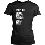 Gilmore Girls Lorelai & Rory & Emily & Sookie & Lane & Paris Shirt - NerdKudo - 8