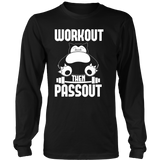 Pokemon Snorlax Workout Then Passout Shirt - NerdKudo - 7