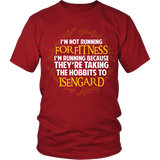 The Lord Of The Rings I'm Running Because They're Taking The Hobbits To Isengard Shirt - NerdKudo - 1