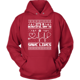 Grey's Anatomy It's A Beautiful Day To Save Lives Ugly Christmas Shirt - NerdKudo - 9