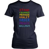 Harry Potter Stone Chamber Prisoner Goblet Order Prince Hallows Shirt - NerdKudo - 8
