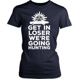 Supernatural Get In Loser We're Going Hunting Shirt - NerdKudo - 13