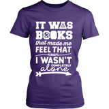 It Was Books That Made Me Feel That Perhaps I Wasn't Completely Alone Harry Potter Hunger Games Fandom Shirt - NerdKudo - 10