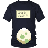 Pokemon It Looks Like This Egg Will Take a Long Time To Hatch Funny Maternity Pregnancy Shirt - NerdKudo - 3
