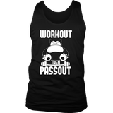 Pokemon Snorlax Workout Then Passout Shirt - NerdKudo - 1