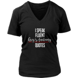 I Speak Fluent Grey's Anatomy Quotes Shirt - NerdKudo - 12