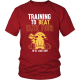 Pokemon Training To Beat Elite Four Or At Least Gary Shirt - NerdKudo - 3