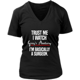 Trust Me I Watch Grey's Anatomy I'm Basically A Surgeon Shirt - NerdKudo - 12