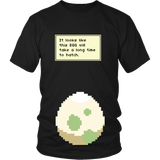 Pokemon It Looks Like This Egg Will Take a Long Time To Hatch Funny Maternity Pregnancy Shirt - NerdKudo - 4