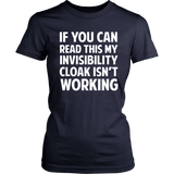 Harry Potter If You Can Read This My Invisibility Cloak Isn't Working - NerdKudo - 9