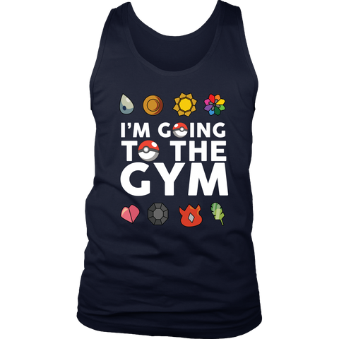 Pokemon I'm Going To The Gym Shirt - NerdKudo - 1