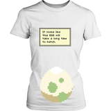 Pokemon It Looks Like This Egg Will Take a Long Time To Hatch Funny Maternity Pregnancy Shirt - NerdKudo - 12