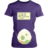 Pokemon It Looks Like This Egg Will Take a Long Time To Hatch Funny Maternity Pregnancy Shirt - NerdKudo - 10