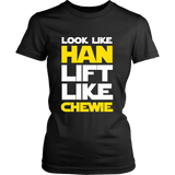 Star Wars Look Like Han Lift Like Chewie Shirt Workout Tanks - NerdKudo - 11