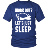 Pokemon Work Out Let's Just Sleep Shirt - NerdKudo - 1