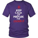 Pokemon Team Rocket Keep Calm And Prepare For Trouble Shirt - NerdKudo - 3