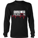 Grey's Anatomy You're My Person Couple Shirt (Left) - NerdKudo - 6