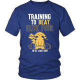 Pokemon Training To Beat Elite Four Or At Least Gary Shirt - NerdKudo - 2