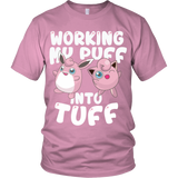 Pokemon Jigglypuff Working My Puff Into Tuff Shirt - NerdKudo - 4