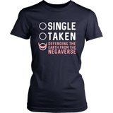 Sailor Moon Single Taken Defending The Earth From The Negaverse Shirt - NerdKudo - 12