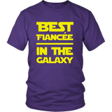 Star Wars Best Fiancee In The Galaxy Shirt - NerdKudo - 2