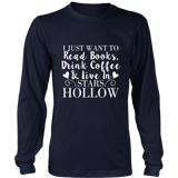 Gilmore Girls I Just Want To Read Books, Drink Coffee & Live In Stars Hollow Shirt - Added More Color - NerdKudo - 7