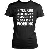 Harry Potter If You Can Read This My Invisibility Cloak Isn't Working - NerdKudo - 7