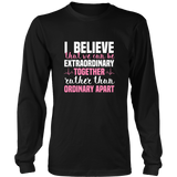 Grey's Anatomy Meredith Grey House Of Candles I Believe That We Can Be Extraordinary Together Shirt - NerdKudo - 5