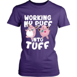 Pokemon Jigglypuff Working My Puff Into Tuff Shirt - NerdKudo - 12