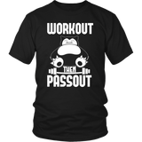 Pokemon Snorlax Workout Then Passout Shirt - NerdKudo - 2