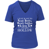 Gilmore Girls I Just Want To Read Books, Drink Coffee & Live In Stars Hollow Shirt - NerdKudo - 13