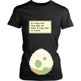 Pokemon It Looks Like This Egg Will Take a Long Time To Hatch Funny Maternity Pregnancy Shirt - NerdKudo - 9