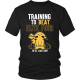 Pokemon Training To Beat Elite Four Or At Least Gary Shirt - NerdKudo - 1