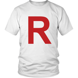 "Pokemon Team Rocket ""R"" Shirt - NerdKudo - 2"