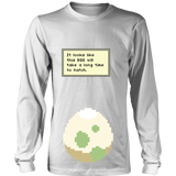 Pokemon It Looks Like This Egg Will Take a Long Time To Hatch Funny Maternity Pregnancy Shirt - NerdKudo - 6
