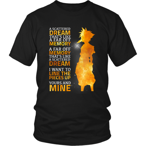 Kingdom Hearts A Scattered Dream Shirt - NerdKudo - 1