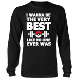 Pokemon I Wanna Be The Very Best Like No One Ever Was Shirt Workout Tanks - NerdKudo - 7