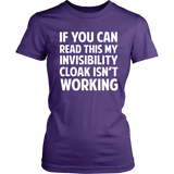 Harry Potter If You Can Read This My Invisibility Cloak Isn't Working - NerdKudo - 8