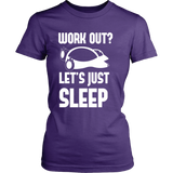 Pokemon Work Out Let's Just Sleep Shirt - NerdKudo - 11