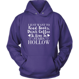 Gilmore Girls I Just Want To Read Books, Drink Coffee & Live In Stars Hollow Shirt - Added More Color - NerdKudo - 11