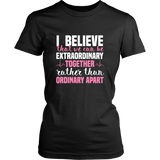 Grey's Anatomy Meredith Grey House Of Candles I Believe That We Can Be Extraordinary Together Shirt - NerdKudo - 8