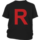"Pokemon Team Rocket ""R"" Shirt - NerdKudo - 14"