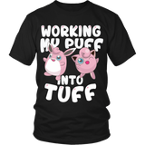 Pokemon Jigglypuff Working My Puff Into Tuff Shirt - NerdKudo - 3