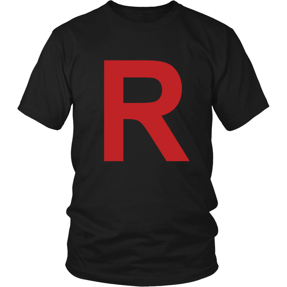 "Pokemon Team Rocket ""R"" Shirt - NerdKudo - 1"