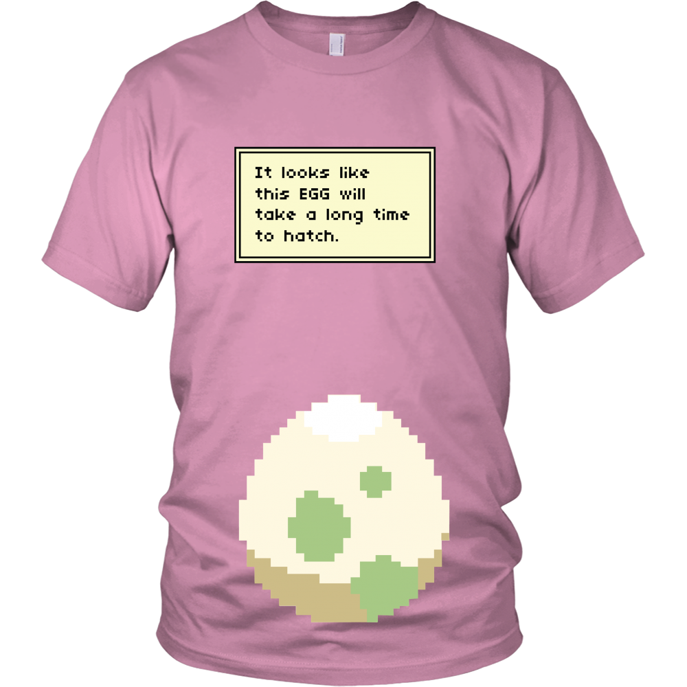 aeaeda1827e04 Pokemon It Looks Like This Egg Will Take a Long Time To Hatch Funny Maternity  Pregnancy Shirt