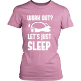 Pokemon Work Out Let's Just Sleep Shirt - NerdKudo - 12