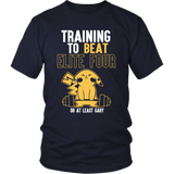 Pokemon Training To Beat Elite Four Or At Least Gary Shirt - NerdKudo - 4