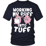 Pokemon Jigglypuff Working My Puff Into Tuff Shirt - NerdKudo - 2