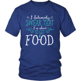 Harry Potter Funny I Solemnly Sweat That I'm About To Get Food Shirt - NerdKudo - 1