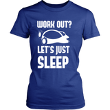Pokemon Work Out Let's Just Sleep Shirt - NerdKudo - 13